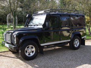 Land Rover Defender For Hire