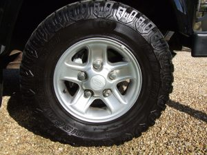 Land Rover Defender Boost Alloy on Hire Defender
