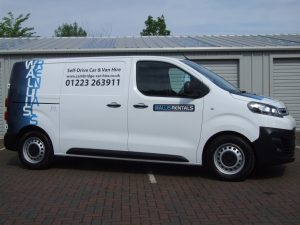 Short Wheel Base Van Hire Cambridge