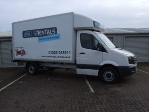 Luton Van Hire Cambridge