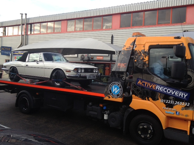 Large Recovery Truck Hire for Car Transporter