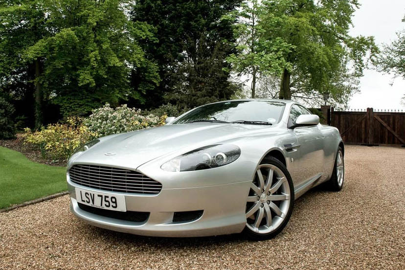 Image of an Aston Martin DB9 Coupe