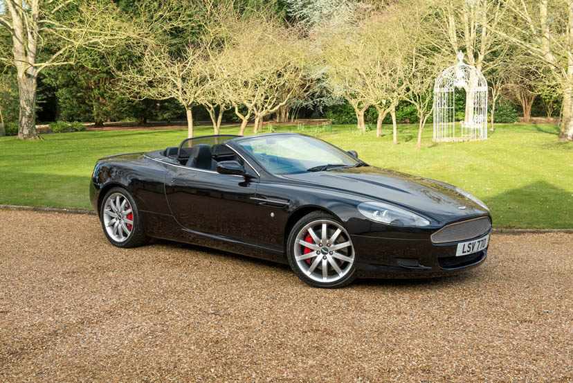 An image of an Aston Martin DB9 Vantage Volante