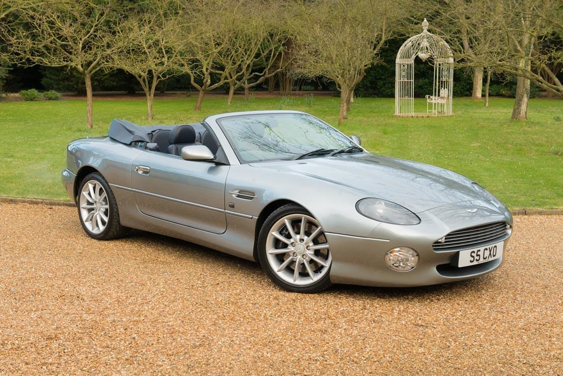Aston Martin Db7 Volante Wedding Cars Gallery