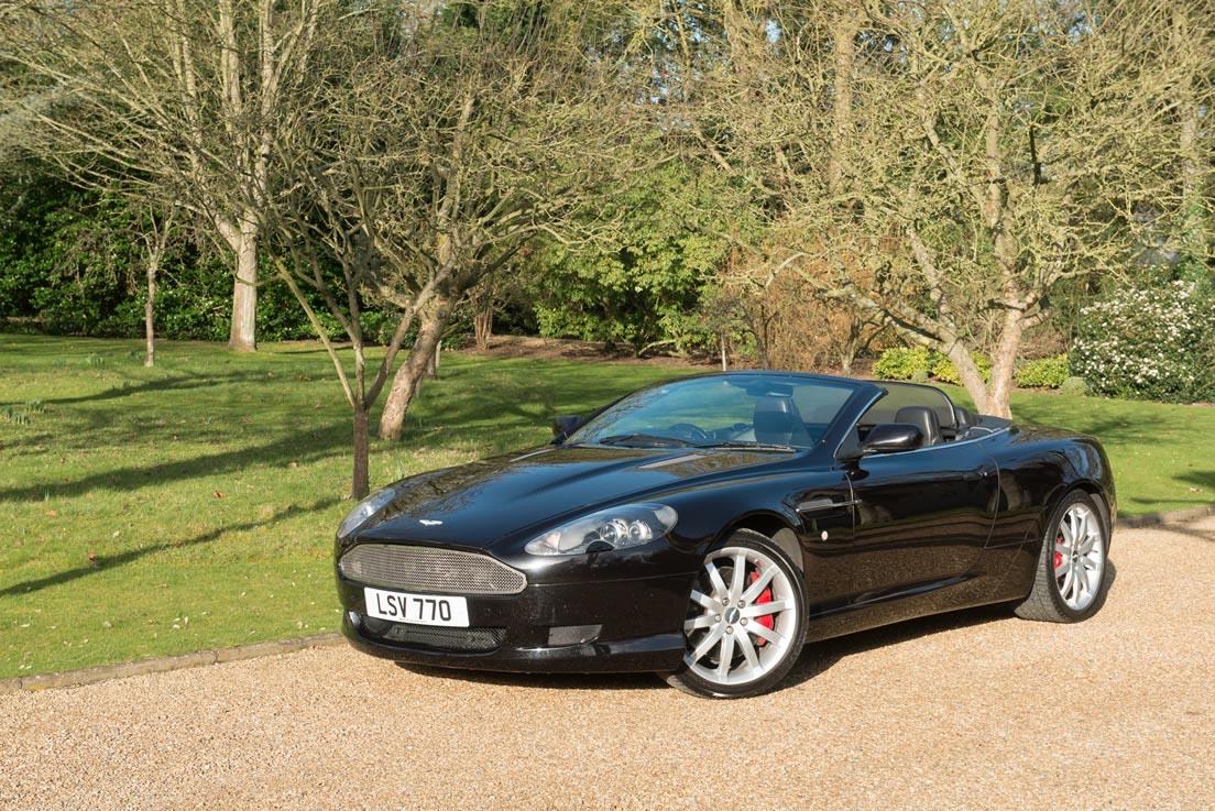 Aston Martin Db9 Volante Wedding Cars Gallery