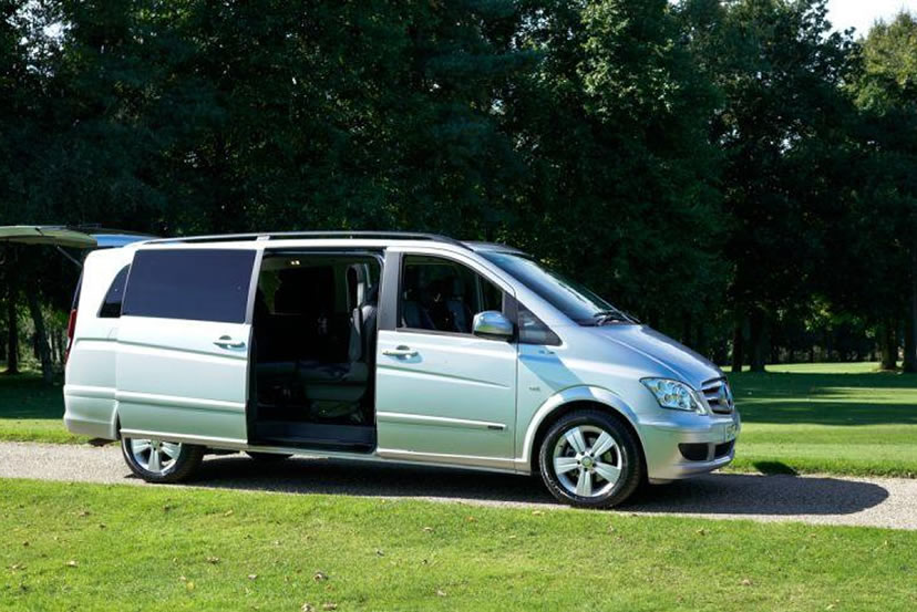 An image of a Mercedes Viano