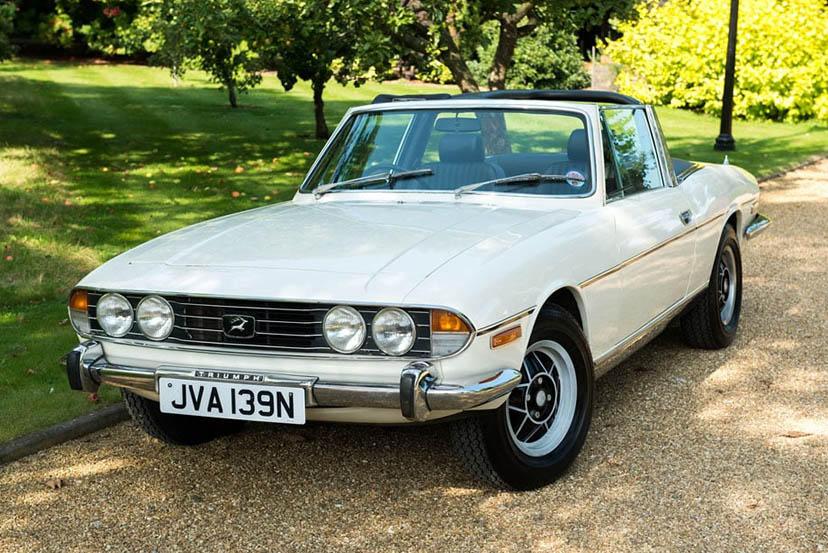 an image of a triumph stag